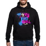 West end Girl Hoodie (dark)