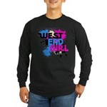 West end Girl Long Sleeve Dark T-Shirt