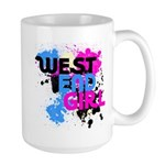 West end Girl Large Mug