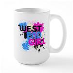 West end Girl Large Mug