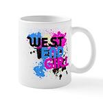 West end Girl Mug