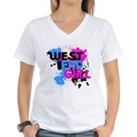 West end Girl Women's V-Neck T-Shirt