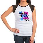 West end Girl Women's Cap Sleeve T-Shirt
