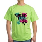 West end Girl Green T-Shirt