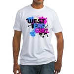West end Girl Fitted T-Shirt