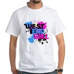 West end Girl White T-Shirt
