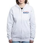 Available in Sober Women's Zip Hoodie