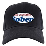 Available in Sober Black Cap