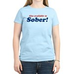 Available in Sober Women's Light T-Shirt