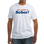 Available in Sober Fitted T-Shirt