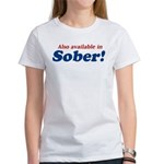 Available in Sober Women's T-Shirt