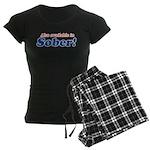 Available in Sober Women's Dark Pajamas
