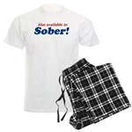 Available in Sober Men's Light Pajamas