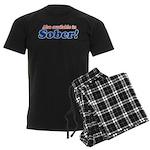 Available in Sober Men's Dark Pajamas