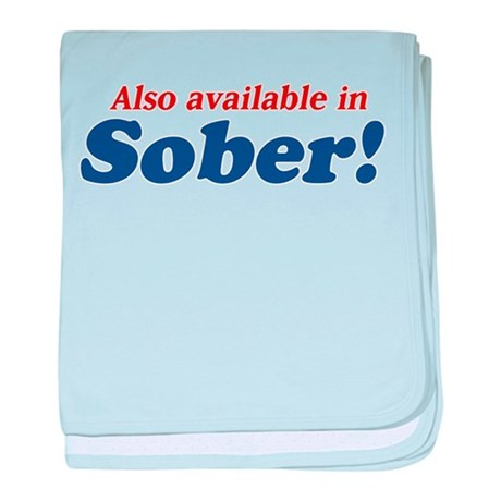 Available in Sober baby blanket