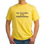 Valentine Yellow T-Shirt