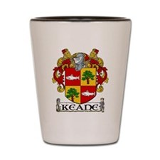 Keane Coat of Arms Shot Glass