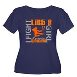 Fight Like a Girl Leukemia Women's Plus Size Scoop