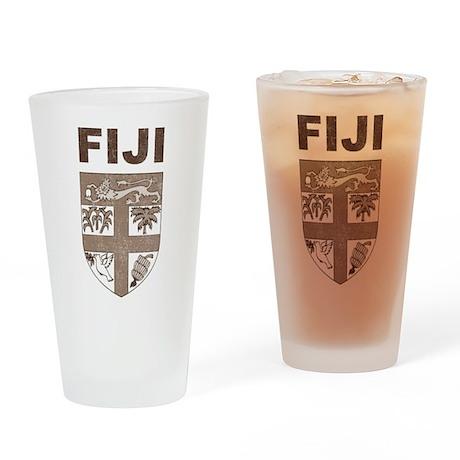 Vintage Fiji Pint Glass