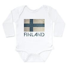 Vintage Finland Long Sleeve Infant Bodysuit