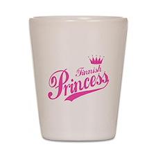 Finnish Princess Shot Glass