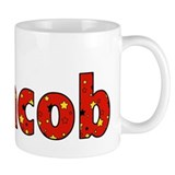 Name design for Jacob Coffee Mug