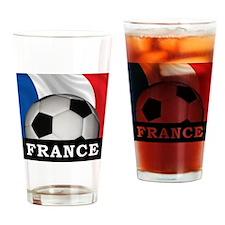 Football France Pint Glass
