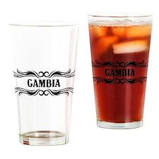 Tribal Gambia Pint Glass