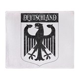 Vintage Deutschland Throw Blanket