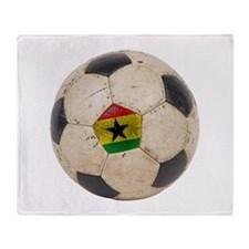 Ghana Football Throw Blanket