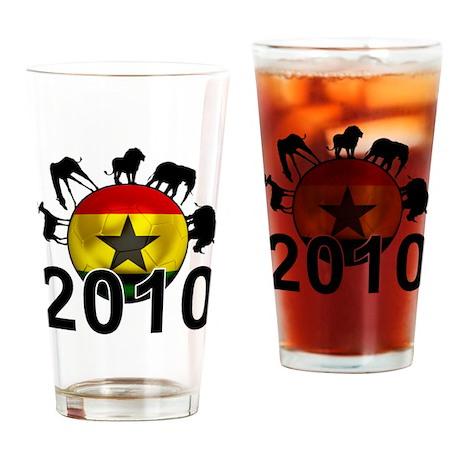 Ghana World Cup 2010 Pint Glass