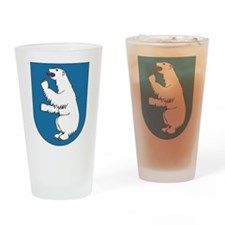 Greenland Coat Of Arms Pint Glass
