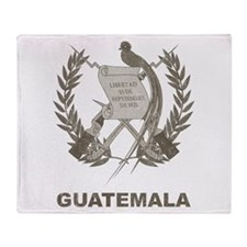 Vintage Guatemala Throw Blanket