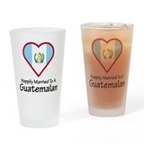 Happily Married Guatemalan Pint Glass