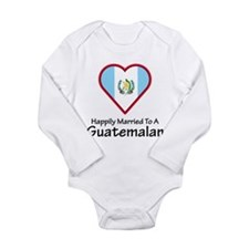 Happily Married Guatemalan Long Sleeve Infant Body