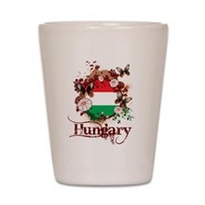 Butterfly Hungary Shot Glass
