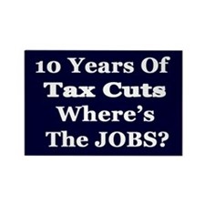 Where's the Jobs?? Rectangle Magnet (10 pack)