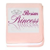 Persian Princess baby blanket