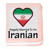 Happily Married Iranian baby blanket
