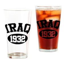 Iraq 1932 Pint Glass