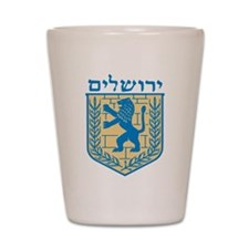 Jerusalem Emblem Shot Glass