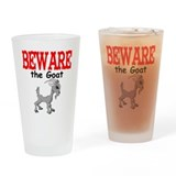 Beware the GOAT Pint Glass