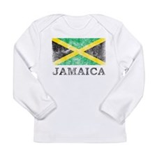 Vintage Jamaica Long Sleeve Infant T-Shirt