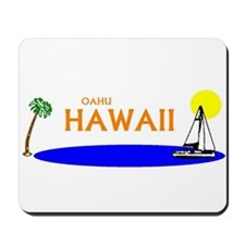 Unique Hawaii vacation Mousepad