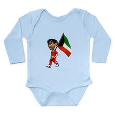 3D Kuwait Long Sleeve Infant Bodysuit