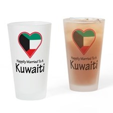 Happily Married Kuwaiti Pint Glass