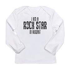 Rock Star In Kuwait Long Sleeve Infant T-Shirt