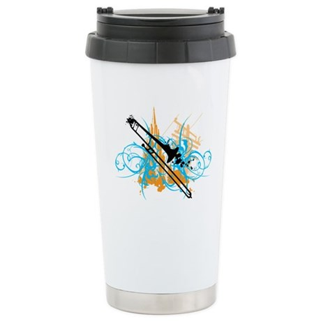 Urban Trombone Ceramic Travel Mug