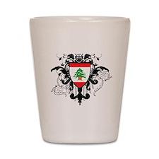 Stylish Lebanon Shot Glass