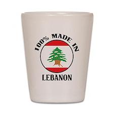 Made In Lebanon Shot Glass